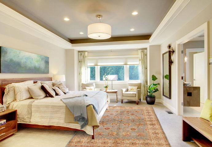 Slaapkamer Met Tapijt : Mooie kamerinrichtingen rondom perzische tapijten u tapijt wiki