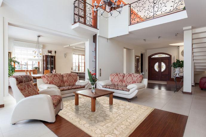 Vloerkleden Slaapkamer : Rode vloerbedekking slaapkamer vloer tapijt ...