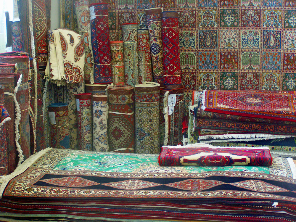 tweedehands Perzisch tapijt