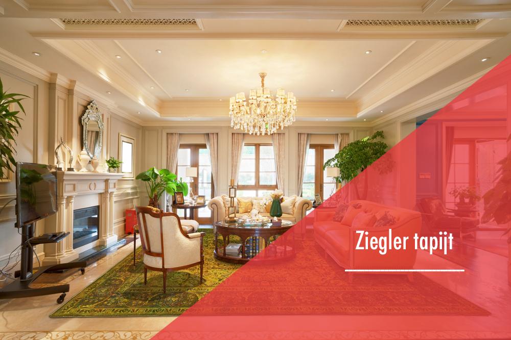 Een Moderne Ziegler tapijt