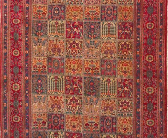 Paneel-floraal-perzisch-tapijt