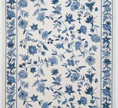 floraal-tapijt