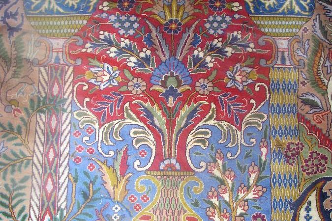 vaas-perzisch-tapijt